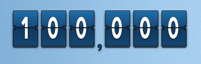 100000 Oxwall: 100000 загрузок