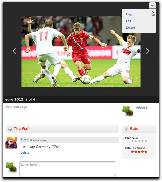 Photo Viewer Oxwall 1.4.0: Новый просмотрщик фото, импорт Google контактов, улучшения и исправления